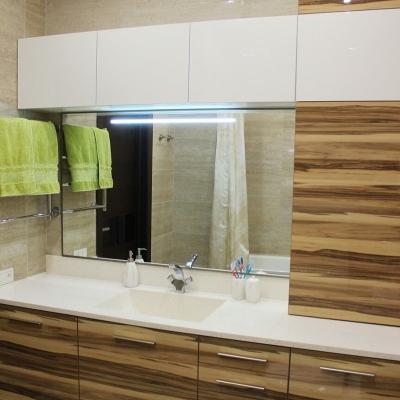 Комплект мебели в ванну с подсветкой