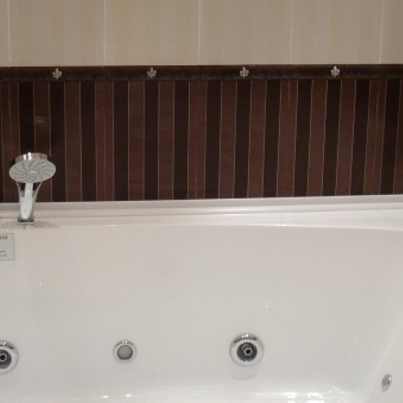 установка ванны с гидромассажем