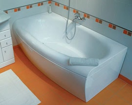 Услуги сантехника - установка ванны монтаж